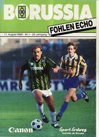 BL 90/91 Borussia Mönchengladbach - VfL Bochum, 11.08.1990