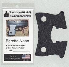 Tractiongrips grips for Beretta Nano pistols /rubber pistol grip
