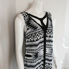 Ladies Summer Geo Print Dress by Portland Size 10 REDUCED to
