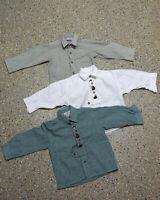 3 tlg. Jungen Kinder Trachten Konvolut in Größe 98 Hemden L182