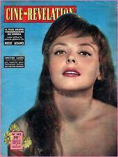 ▬► 1957 Ciné Révélation 193 CHRISTINE CARÈRE_DORA DOLL_MAURICE RONET (2 pages)