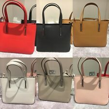 Women's Italian LEATHER Medium Shoulder: Laptop Bags (6 Colours To Choose From)