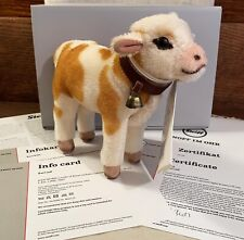 MINT IN BOX Limited Edition Steiff Karl Calf Toy, Bell & Tags Germany 2017 CUTE!