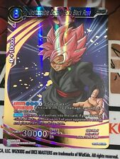 Dragon Ball Super Card Game BT2 - 054 Unstoppable Despair Goku Black Rosé