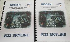 NISSAN R32 SKYLINE ENGINE MANUAL CA18i RB20E RB220DE RB20DET RB25DE RB26DETT