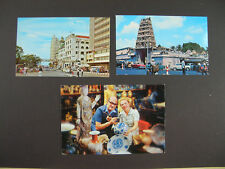 3 AK - Singapur - Singapore - ab 80er J.- Ansichtskarten - Postkarten (A131)
