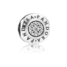 Authentic Pandora Charm S925 ALE Signature CZ 791414CZ