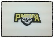 NEW PANTERA Patch Sew Iron On Heavy Metal Rock Band Logo Music Embroidered DIY