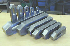 DIN 6314 Spanneisen flach  für M6 bis M20  Nute 7 bis 22 mm