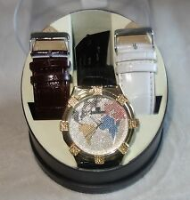 ICE MAXX World Map MENS Watch with diamonds new