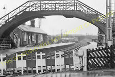Billingham Railway Station Photo. Norton-on-Tees - Greatham. Middlesbrough. (3)