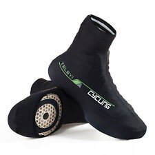 TELEYI Cycling Shoe Covers Lycra Bicycle Breathable Bike  Zippered Overshoes