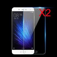 2X 9H Premium Tempered Glass Screen Protector Film For XiaoMi Redmi 4X/4A/Note 4