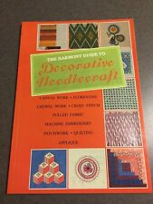 The Harmony Guide to Decorative Needlecraft Cross Stitch Quilt 1993 Paperback