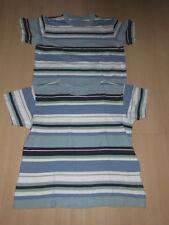 T-Shirt von Jako-O * blaue & türkise Streifen * Gr. 140/146 *100 % Baumwolle