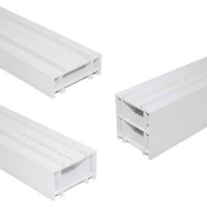 70mm Upvc Add-on White Window Door Frame Extension Packer Head Extender pvc pvcu