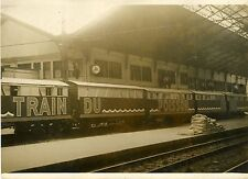 """INAUGURATION DU TRAIN DU POISSON 1930"" Photo originale G. DEVRED (Agce ROL)"