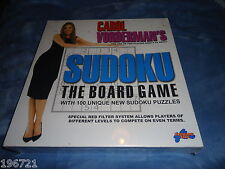 Carol Vorderman's SUDOKU board game  NEW SEALED