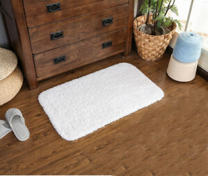 Hotel Collection Cotton Reversible Bath Area Rug - 100% Cotton Bath Mat Bathroom