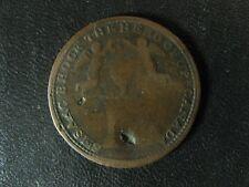 UC-6A7 Halfpenny 1816 Isaac Brock token Upper Canada Ontario Breton 724