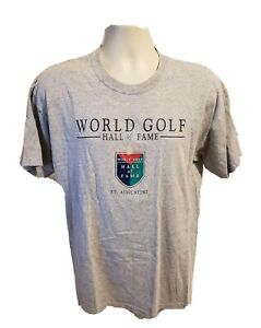 World Golf Hall of Fame St Augustine Adult Large Gray TShirt