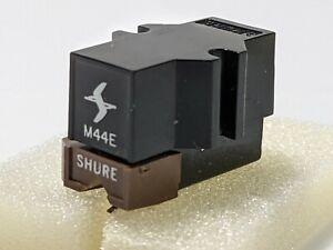 Shure M44E Cartridge w Original Shure Stylus.  Tested.