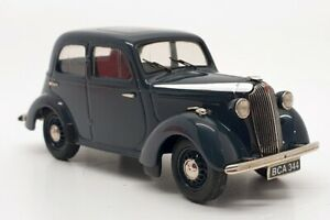 Somerville Models 1/43 Scale 152A - Vauxhall 10 HP - Cobalt Blue - Numberplate