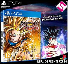 DRAGON BALL FIGHTERZ PS4 CASTELLANO JUEGO FÍSICO NUEVO PRECINTADO PLAYSTATION