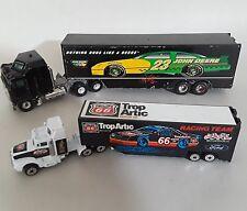 Racing Champions Diecast Tractor Trailers TROP ARTIC 1992 JOHN DEERE 2 Trucks