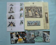 WWF Falkland Islands Official First Day Covers, Postcards & Stamps 1991 Penguin