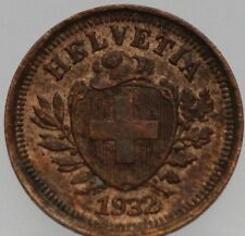 Zwitserland - Switzerland  1 Rappen 1932 - KM# 3.2
