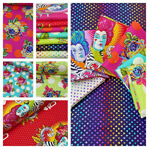Curiouser and Curiouser - by Tula Pink 100% cotton quilting & patchwork fabric
