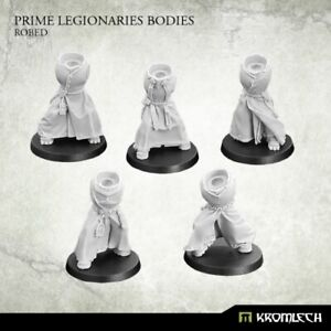 Robed Legionaries Bodies x5-Kromlech-Primaris Marines Astartes Dark Angels Squad