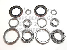 2 Sets Trailer Wheel Bearing Kits 25580 LM67048 Seal 2.250'' for 5200-6000# Axle