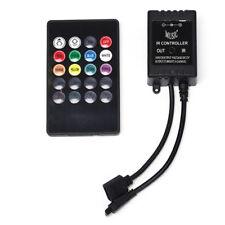 20 Key IR Sound Sensor Musik-Fernbedienung für RGB 5050 3528 LED-LichtstreifenX