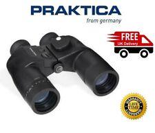 Praktica Marine II 7x50 Binoculars Black (UK Stock)