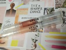 Stila Lip Glaze Glow & Kitten Beautiful Champagne Shimmer Lip Gloss NEW