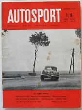 November Weekly Autosport Transportation Magazines