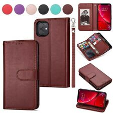 Leather Wallet Flip Card Holder Cover Case for iPhone 11 Pro Max XR XS 8 6S Plus