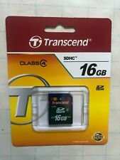 Transcend 16 GB High Speed SDHC Class 4 Flash Memory Card TS16GSDHC4