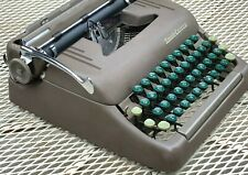 Smith Corona Silent Manual Portable Typewriter With Case Instructions