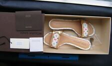 AUTHENTIC LOUIS VUITTON Heels Sandals Monogram Multicolore 36 1/2 Box Tag Shoes