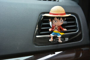 One Piece Anime Collection Car Air Freshener Outlet Perfume Scent Car Decoration