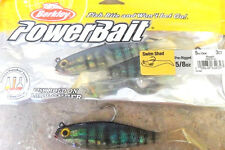 "Berkley PowerBait Swim Shad - 5"" - Blue Gill, soft plastic lure"