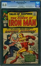 Tales of Suspense 58 CGC 8.0 - OW Pages