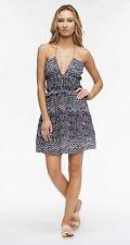 Womens Tavik Sage Mini Dress Santorini Evening Blue Size M Medium