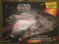 Star Wars Power of the Force Electronic Millennium Falcon  POTF Vintage 1995
