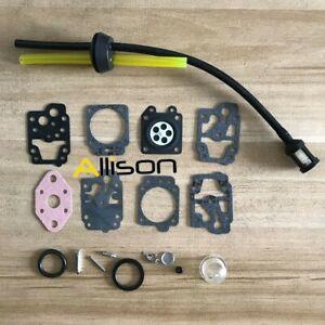 carburetor repair kit F Ryobi Homelite RY34441 RY34442 RY34421 RY34422 RY34425