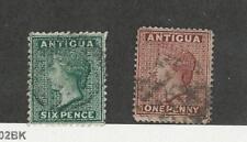 Antigua, Postage Stamp, #7, 8 Used, 1872-73, JFZ