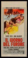 L139 Plakat die Tag der Furore Oliver Reed Mcenery Claudia Cardinale